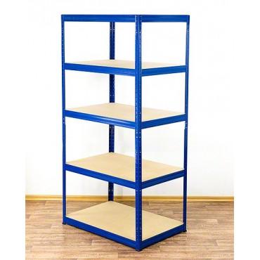 Helios Color 196x100x60 5p 175kg na półkę / Kolor: Biało-Niebieski