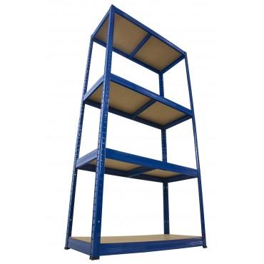 Helios Color 180x100x45 4p 175kg na półkę / Kolor: Niebiesko-Niebieski