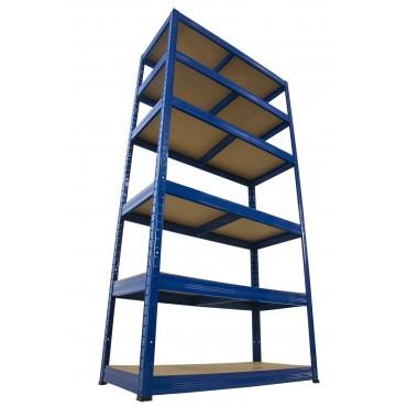 Helios Color 196x110x35 6p 175kg na półkę / Kolor: Niebiesko-Niebieski