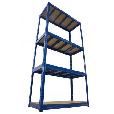Helios Color 180x75x40 4p 400kg na półkę / Kolor: Niebiesko-Niebieski