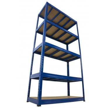 Helios Color 213x100x40 5p 400kg na półkę / Kolor: Niebiesko-Niebieski