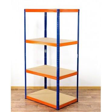 Helios Color 180x100x60 4p 350kg na półkę / Kolor: Niebiesko-Pomarańczowy