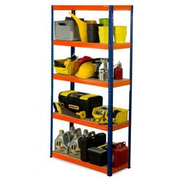 Helios Color 180x120x50 5p 175kg na półkę / Kolor: Niebiesko-Pomarańczowy