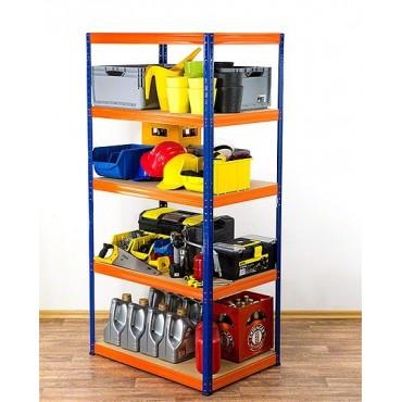 Helios Color 180x100x40 5p 175kg na półkę / Kolor: Niebiesko-Pomarańczowy