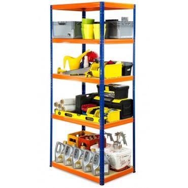 Helios Color 213x110x45 5p 175kg na półkę / Kolor: Niebiesko-Pomarańczowy
