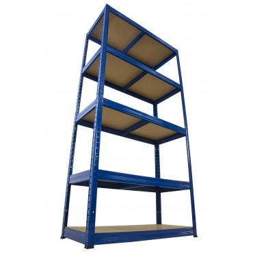 Helios Color 180x75x40 5p 175kg na półkę / Kolor: Niebiesko-Biały