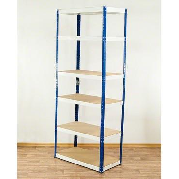 Helios Color 213x075x40 6p 175kg na półkę / Kolor: Niebiesko-Biały