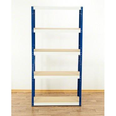 Helios Color 213x090x30 5p 175kg na półkę / Kolor: Niebiesko-Biały