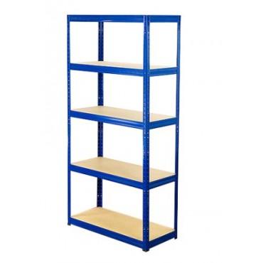 Helios Color 213x90x35 5p 350kg na półkę / Kolor: Niebiesko-Biały