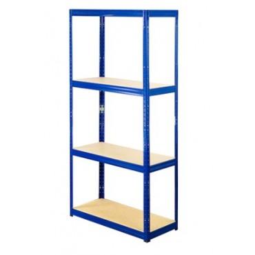 Helios Color 180x75x60 4p 400kg na półkę / Kolor: Niebiesko-Biały