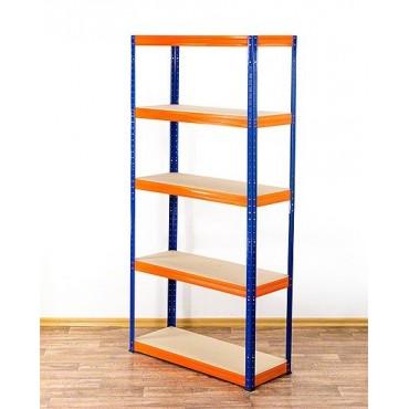 Helios Color 180x90x45 5p 275kg na półkę / Kolor: Niebiesko-Pomarańczowy