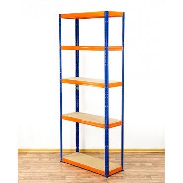 Helios Color 213x100x35 5p 350kg na półkę / Kolor: Niebiesko-Pomarańczowy