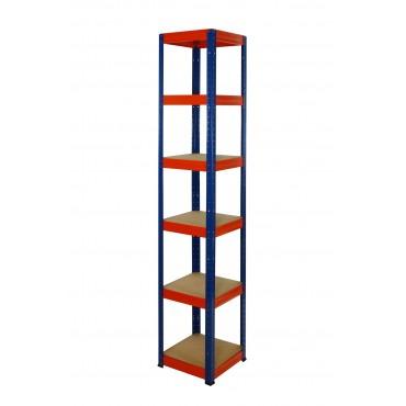 Helios Color 213x30x30 6p 175kg na półkę / Kolor: Niebiesko-Pomarańczowy
